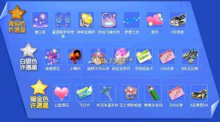 QQ飞车六月抽奖道具一览表