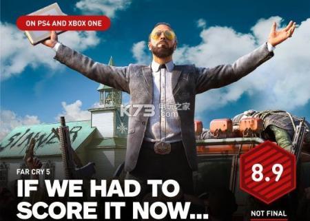 《孤岛惊魂5》媒体评分解禁!IGN打出8.9