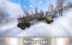 6x6木材卡车模拟器 v1.1 游戏下载 截图